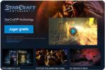 ¡Gratis! Juego Starcraft + Expansión Brood War en Blizzard