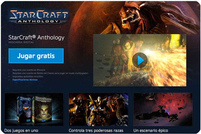 starcraft anthology gratis chollos blizzard blog de ofertas bdo