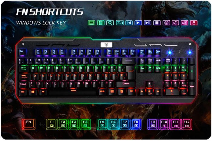 teclado mecanico victsing gaming barato chollos amazon blog de ofertas bdo