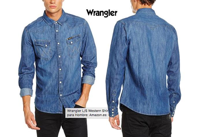 Camisa vaquera Wrangler barata oferta descuento chollo blog de ofertas bdo .jpg