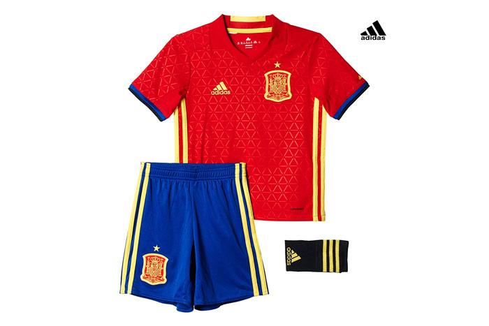 Equipación España adidas Uefa Euro 2016 barata oferta descuento chollo blog de ofertas bdo .jpg