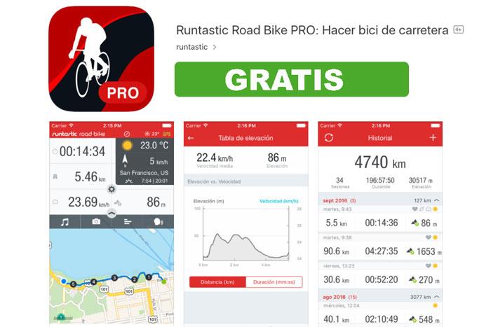 aplicacion runtastic road bike pro gratis chollos blog de ofertas bdo
