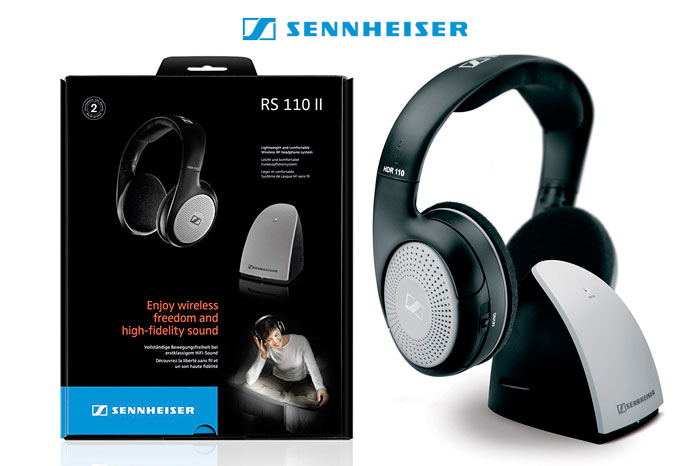 chollo auriculares inalambricos sennheiser rs 110-8 ii baratos chollos amazon blog de ofertas bdo