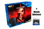 ¡Chollazo! PS4 Slim 1TB + Tekken 7 + Mando adicional barato 299€¡Volará!