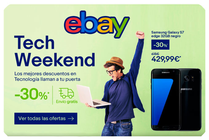 tech weekend ebay chollos amazon blog de ofertas bdo