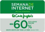 Semana de Internet El Corte Inglés hasta -60% Descuento ¡Pocos Días!