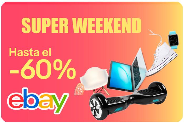 superweekend ebay chollos rebajas blog de ofertas bdo