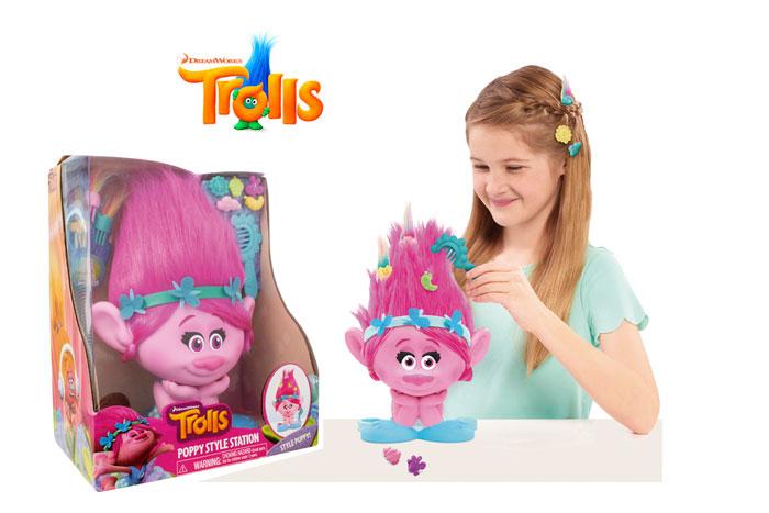 muñeca trolls busto de poppy estilismo barato chollos amazon blog de ofertas bdo
