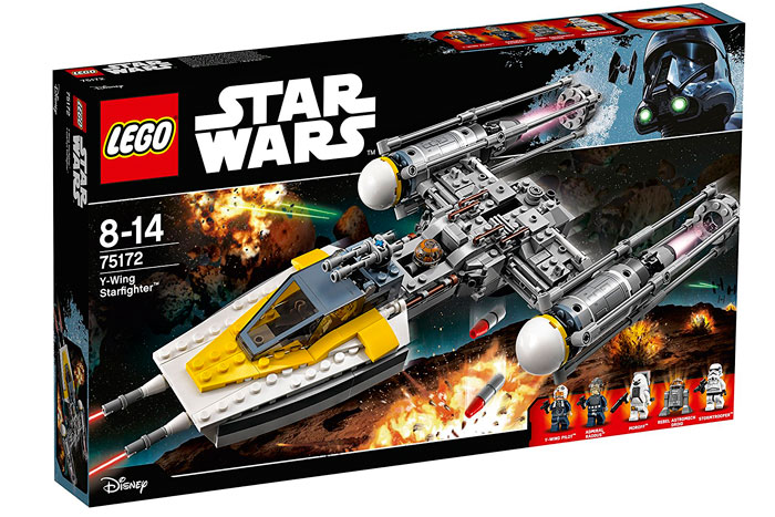 Lego Star Wars Y-Wing Starfighter barato oferta descuento chollo blog de ofertas bdo