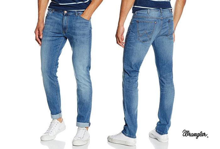 Pantalones Wrangler Larston Blue Mary baratos ofertas descuentos chollos blog de ofertas bdo
