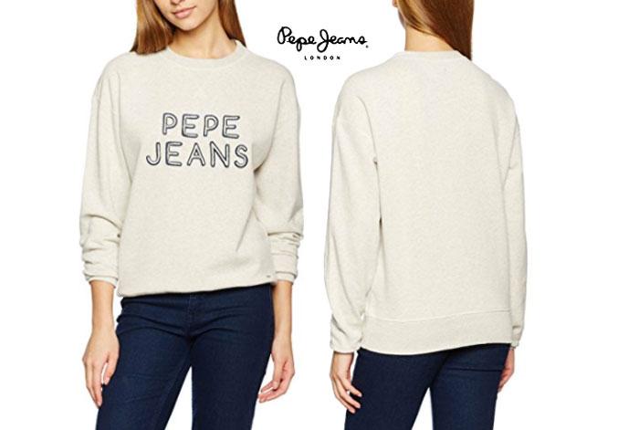 Sudadera Pepe Jeans Lola barata oferta descuento chollo blog de ofertas bdo