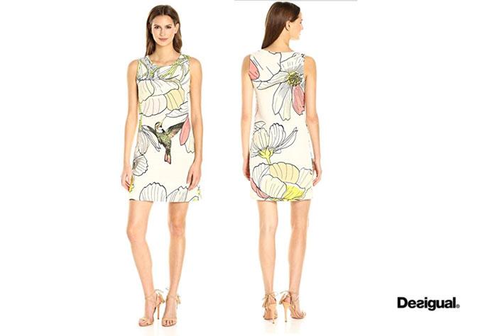 Vestido Desigual Menta barato oferta descuento chollo blog de ofertas bdo