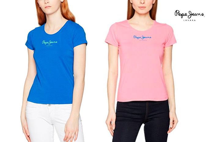 camiseta pepe jeans new viriginia barata oferta blog de ofertas bdo
