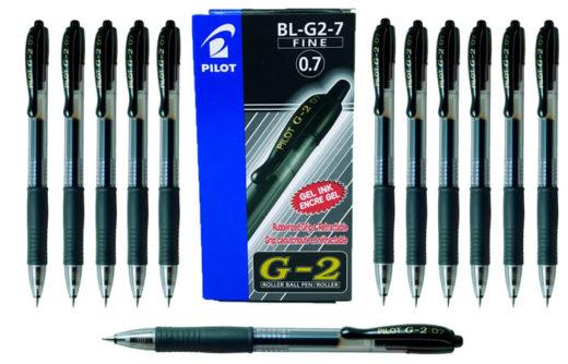 Pack 12 Bolígrafos Pilot BL-G2-7 baratos