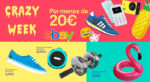 Crazy Week eBay Todo por menos de 20€ ¡Chollos de verano!