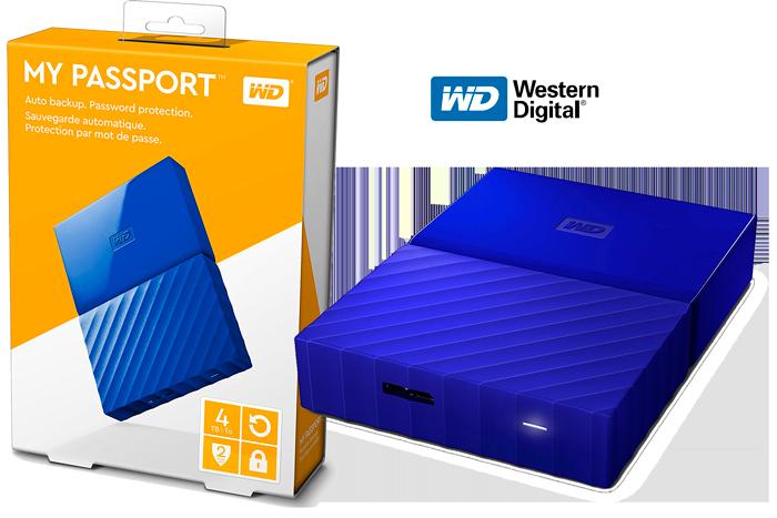 disco duro externo wd my passport 4tb barato chollos amazon blog de ofertas bdo