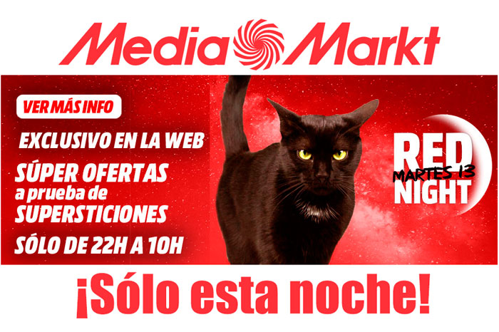 red night mediamarkt martes 13 blog de ofertas bdo