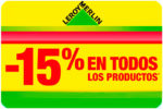 Promoción Leroy Merlin -15% Descuento para TODOS el Lunes 3 Julio
