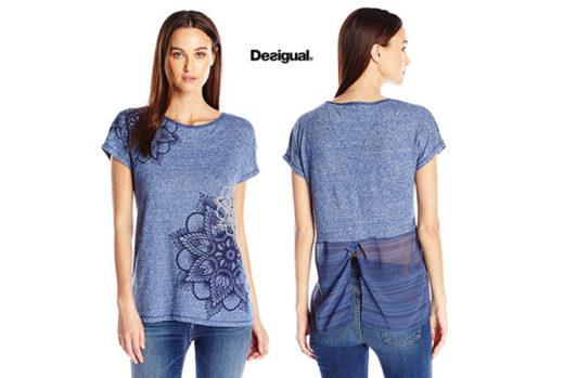 Camiseta Desigual Saruca barata oferta descuento chollo blog de ofertas bdo .