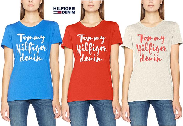 Camiseta Tommy Hilfiger Denim basic barata oferta descuento chollo blog de ofertas bdo