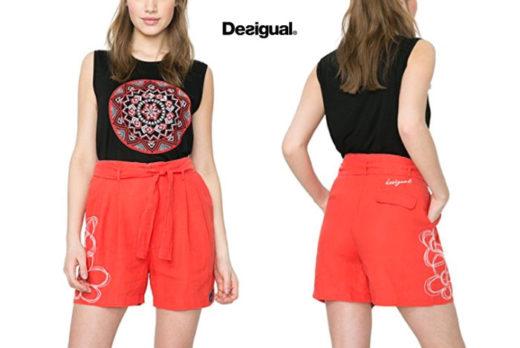 Pantalones cortos Desigual Lis baratos ofertas descuentos chollos blog de ofertas bdo .jpg