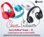Cascos Exclusivos McDonalds 1€con tu McMenú Grande ¡Summer ☀️ lover!