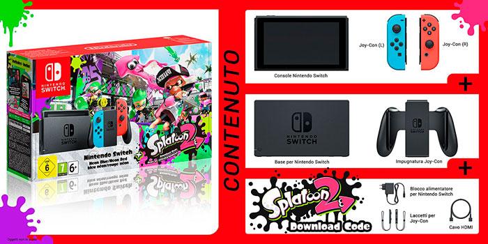 comprar consola nintendo switch splatoon 2 barata chollos rebajas blog de ofertas bdo