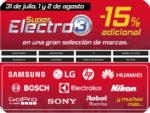 Super Electro 3 en El Corte Inglés ¡Descuento 15% adicional!