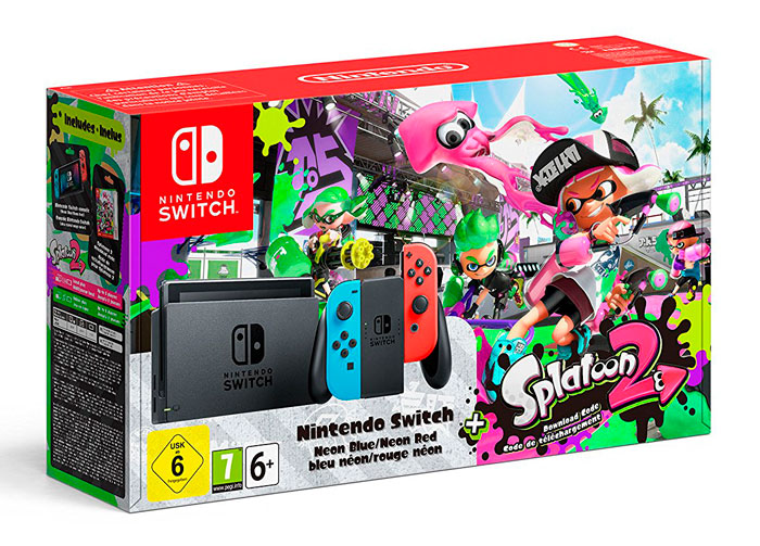 comparar consola nintendo switch splatoon 2 barata chollos amazon blog de ofertas bdo