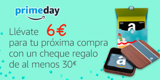 primeday 6 euros regalo cheque regalo blog de ofertas amazon bdo