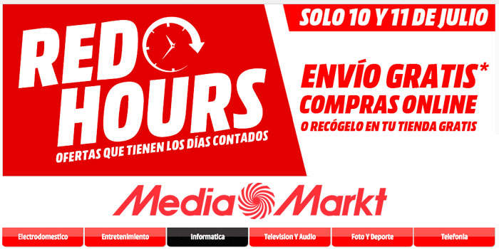 red hours mediamarkt chollos amazon blog de ofertas bdo
