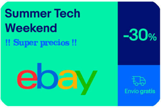 summer tech weekend ebay chollos rebajas blog de ofertas bdo