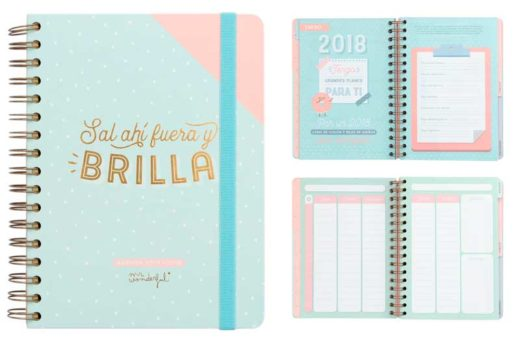 agenda mrwonderful 2017-2018 barata chollos amazon blog de ofertas bdo