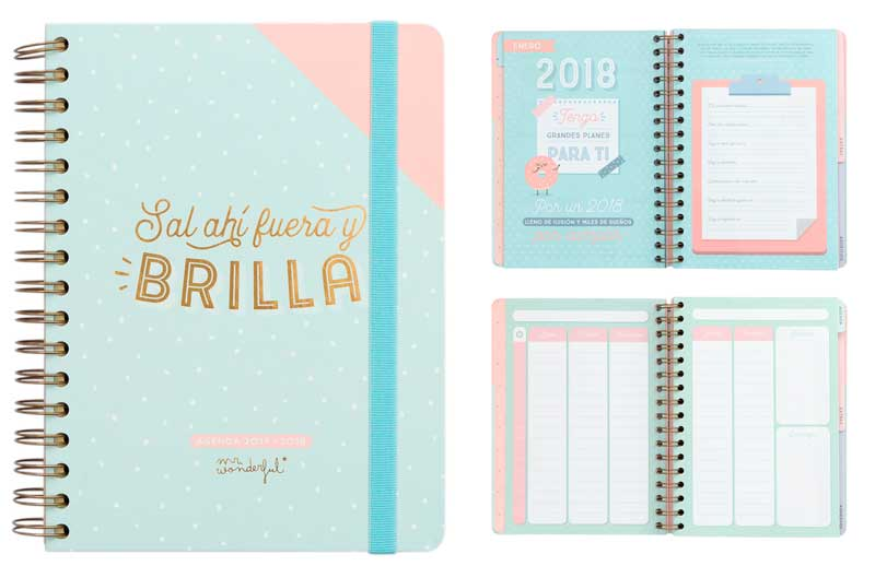 Quieres la agenda mr wonderful 2017 2018 la m s vendida - Agenda de mr wonderful 2017 ...