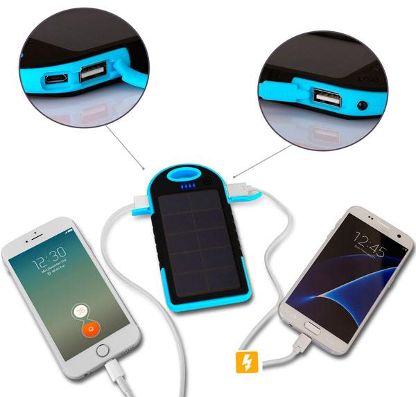 bateria externa solar 5000mah barata chollos rebajas blog de ofertas bdo