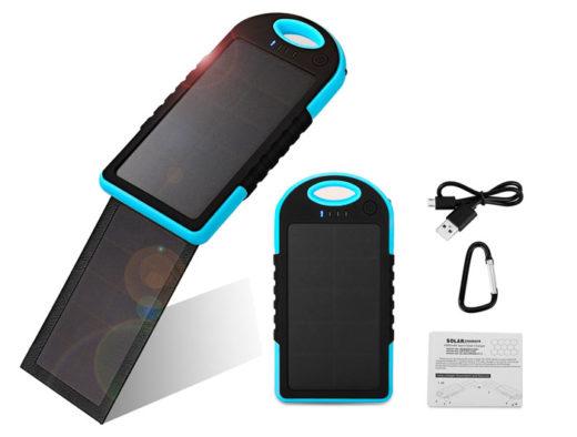 bateria externa solar 5000mah barata yokkao chollos amazon blog de ofertas bdo