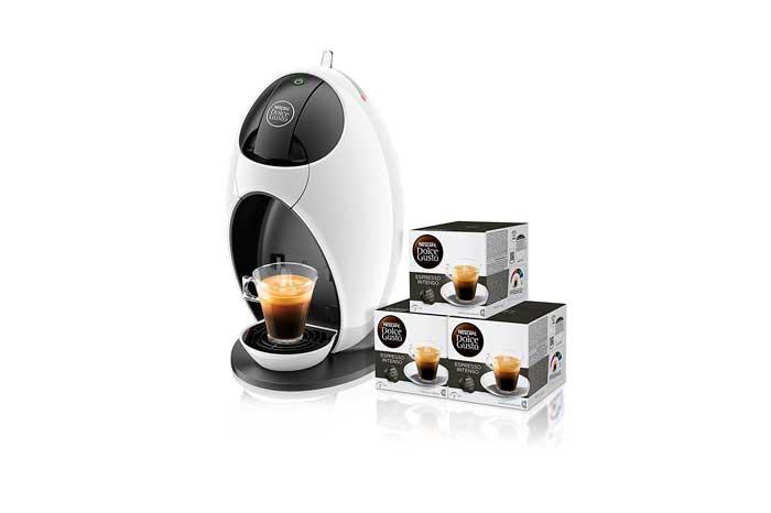 cafetera dolce gusto delonghi jovia edg250 barata descuento rebajas capsulas nespresso
