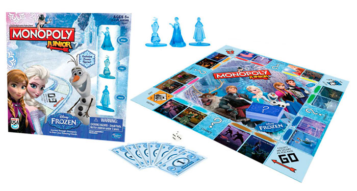 juego de mesa monopoly junior frozen barato bdo