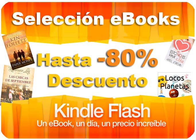 kindle flash ofertas del dia libros ebooks chollos rebajas blog de ofertas bdo