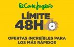 Ya disponible Límite 48 Horas en El Corte Inglés ¡Sólo este fin de semana!