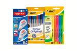 ¡Chollo! Pack 10 bolígrafos BiC, 5 marcadores BiC y 2 Tipp-Ex barato 6€