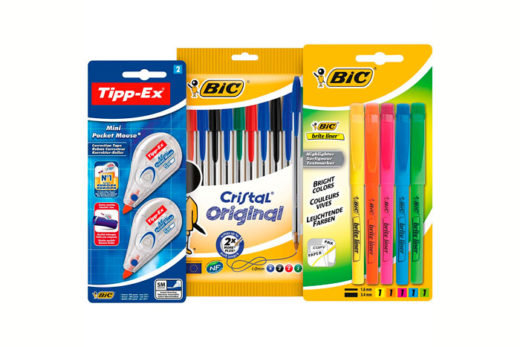 Pack 10 boligrafos BIC, 5 marcadores y 2 tipex barato oferta blog de ofertas bdo.jpg