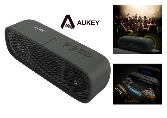 altavoz bluetooth aukey SK-M7 barato chollos amazon blog de ofertas bdo