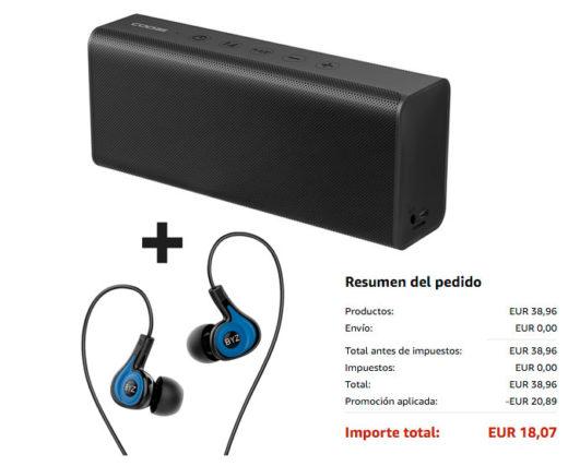 altavoz bluetooth auriculares baratos pack set chollos rebajas blog de ofertas bdo
