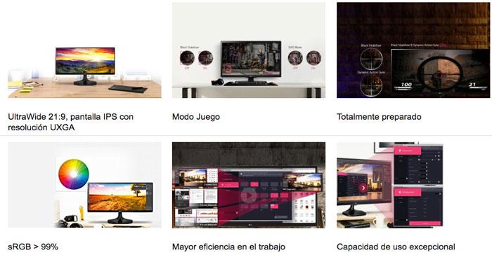 caracteristicas monitor lg 25um58-p barato chollos amazon blog de ofertas bdo