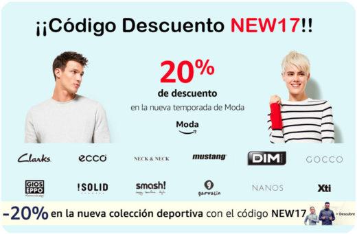 codigo descuento new17 amazon blog de ofertas bdo