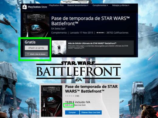 pase de temporada star wars battlefront gratis chollos rebajas blog de ofertas bdo