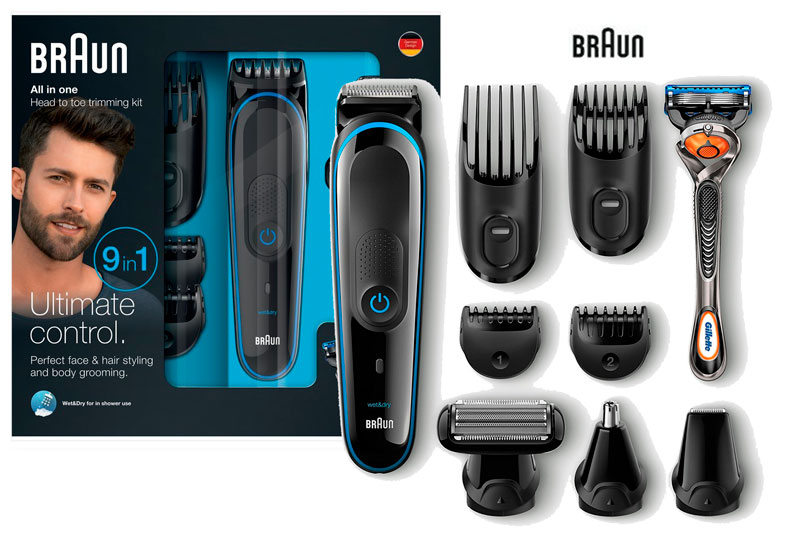 set afeitado braun mgk 3080 barato chollos amazon blog de ofertas bdo