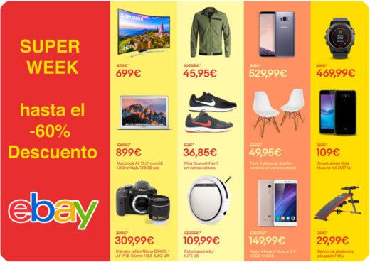 promocion super week ebay chollos amazon blog de ofertas bdo