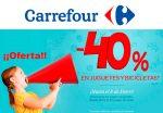 ¡Chollazo! -40% Descuento Juguetes Carrefour hasta 8 Enero